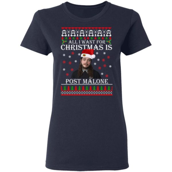 All I want for Christmas is Post Malone ugly sweater 4