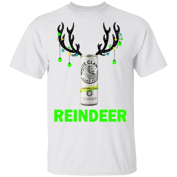 White Claw Reinbeer Natural Lime sweatshirt