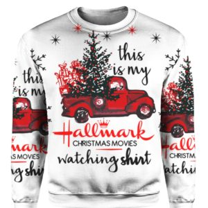 Hallmark Christmas movies sweatshirt 3D print