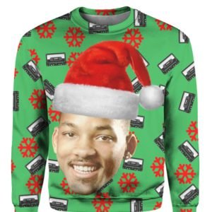 The Fresh Prince of Bel-Air 3D Christmas sweater