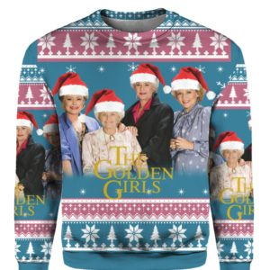 The Golden Girls 3D Print Christmas sweater