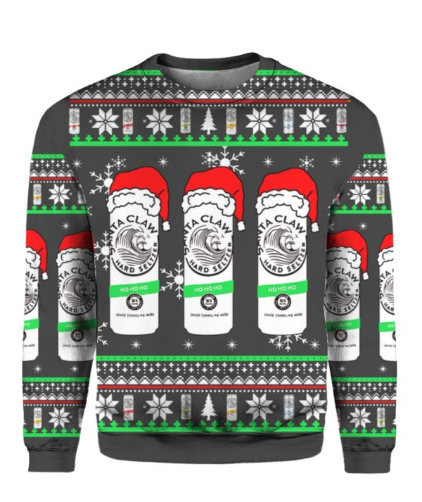 White Claw 3D Christmas Sweater