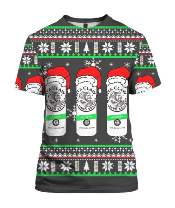 White Claw 3D Christmas Sweater 4