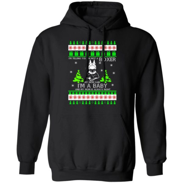 I'm Telling You I'm Not A Boxer Christmas sweater 7