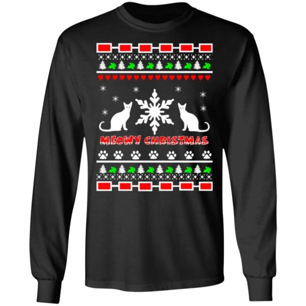 Couples Meowy Christmas sweater 5