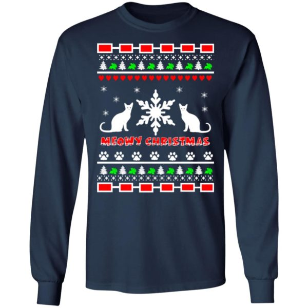 Couples Meowy Christmas sweater 6