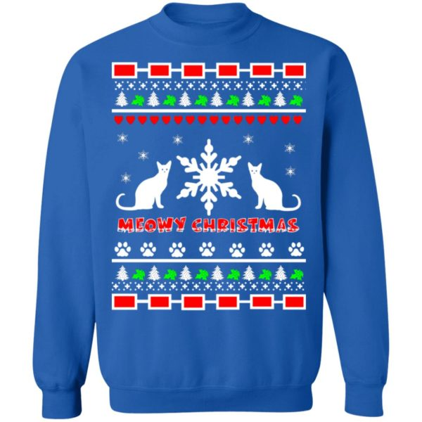 Couples Meowy Christmas sweater 12