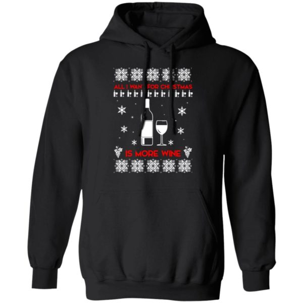 All I Want For Christmas is Wine Ugly Sweater 7