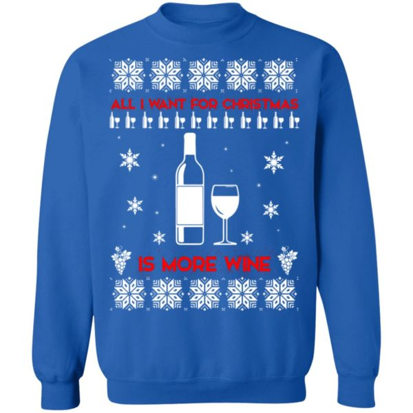 All I Want For Christmas is Wine Ugly Sweater 12