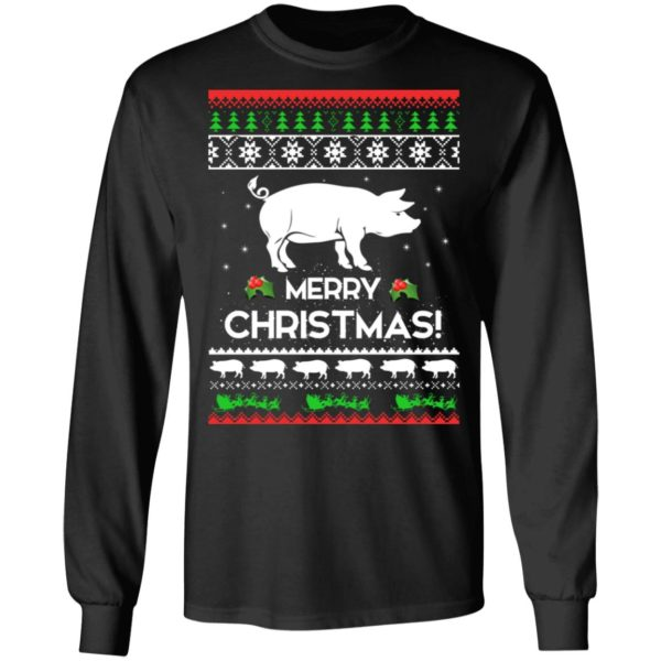 Merry Christmas Pig Ugly Sweater 5