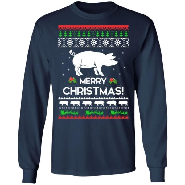 Merry Christmas Pig Ugly Sweater 6