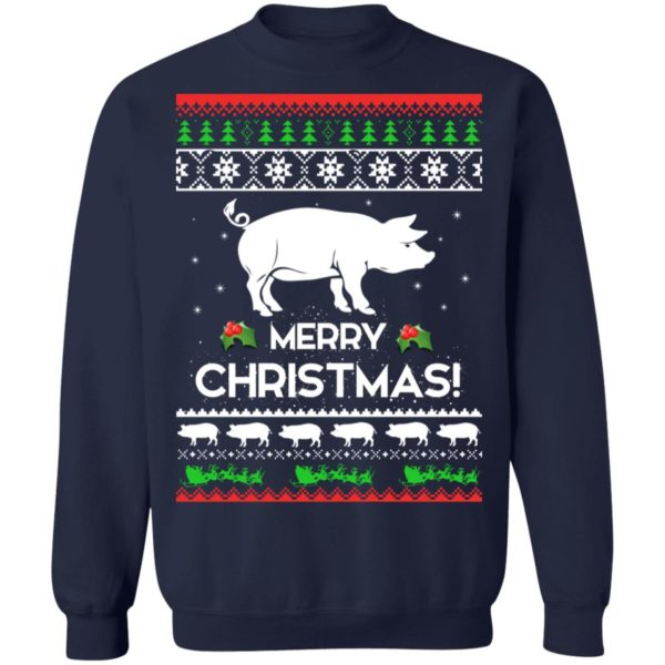 Merry Christmas Pig Ugly Sweater 10