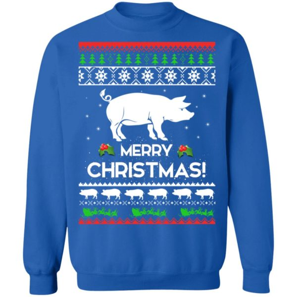 Merry Christmas Pig Ugly Sweater 12