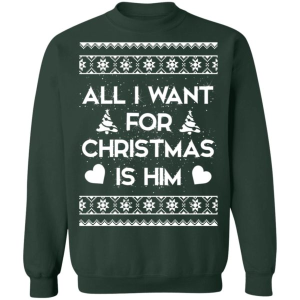 All I Want For Christmas is Him sweater 12