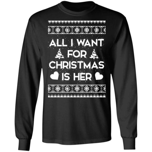 All I Want For Christmas is Her sweater 5
