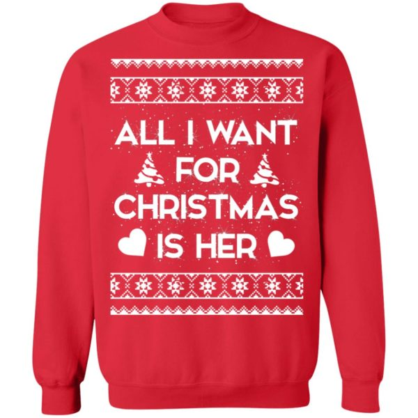 All I Want For Christmas is Her sweater
