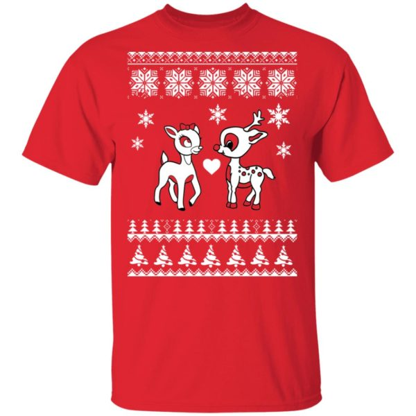 Rudolph And Clarice Christmas sweater 2