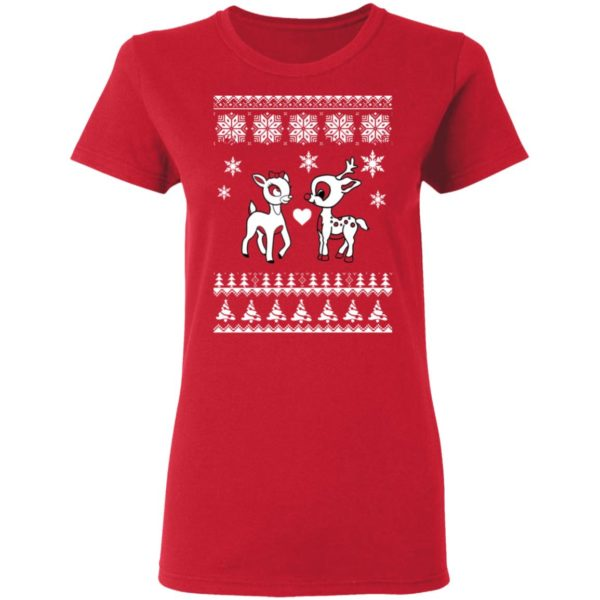 Rudolph And Clarice Christmas sweater 4