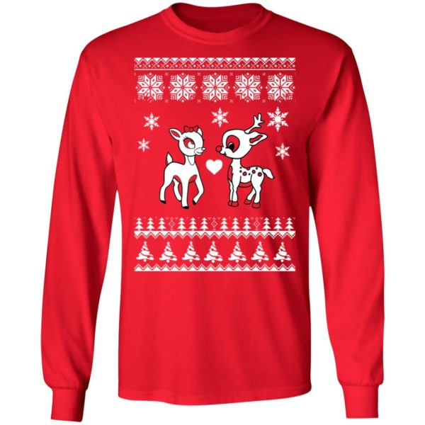 Rudolph And Clarice Christmas sweater 6
