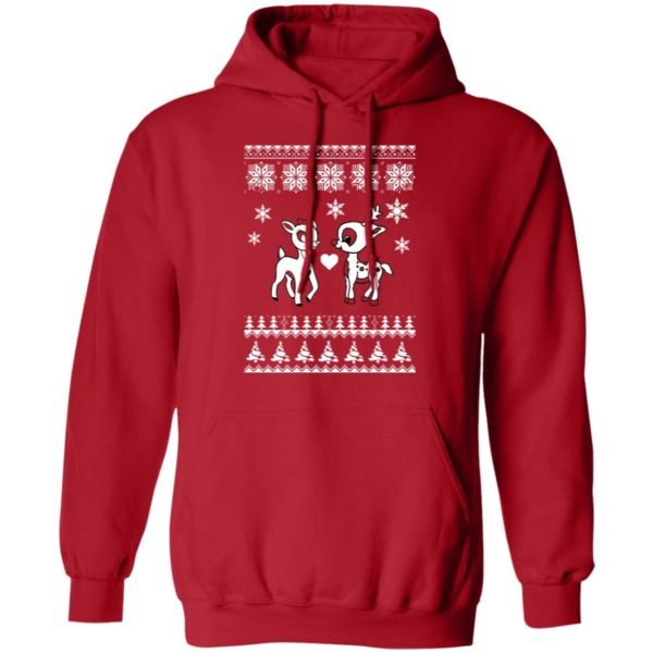 Rudolph And Clarice Christmas sweater 8