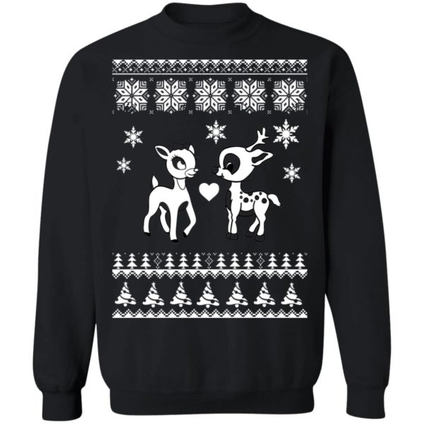 Rudolph And Clarice Christmas sweater 9