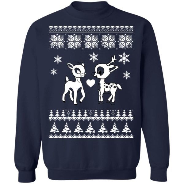 Rudolph And Clarice Christmas sweater 10