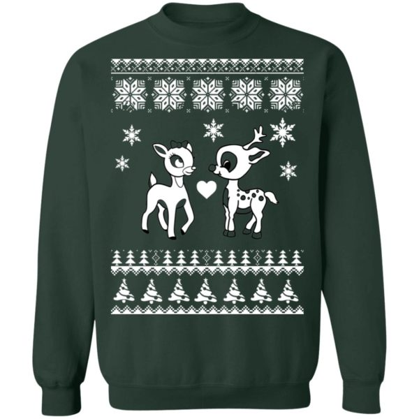 Rudolph And Clarice Christmas sweater 12