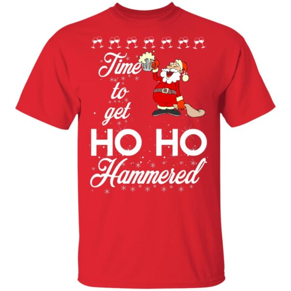 Time To Get Ho Ho Hammered Christmas sweater 2