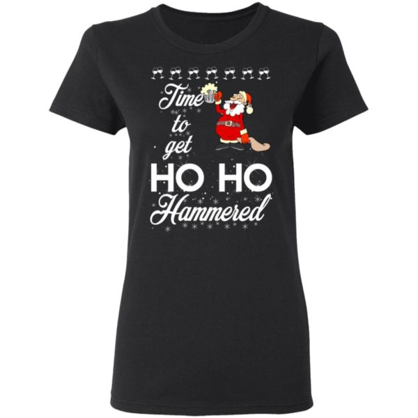 Time To Get Ho Ho Hammered Christmas sweater 3