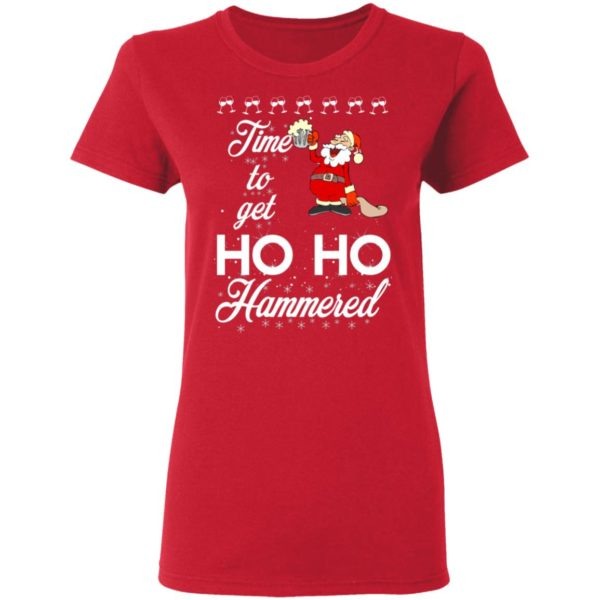 Time To Get Ho Ho Hammered Christmas sweater 4