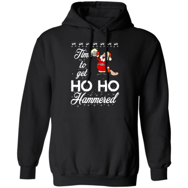 Time To Get Ho Ho Hammered Christmas sweater 7