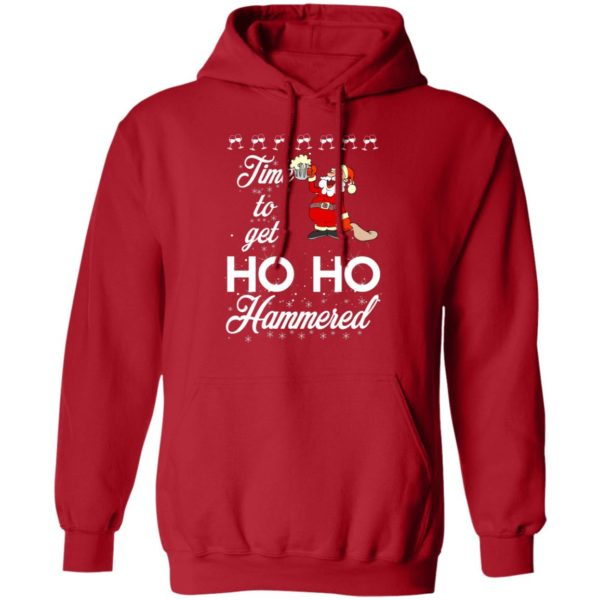 Time To Get Ho Ho Hammered Christmas sweater 8