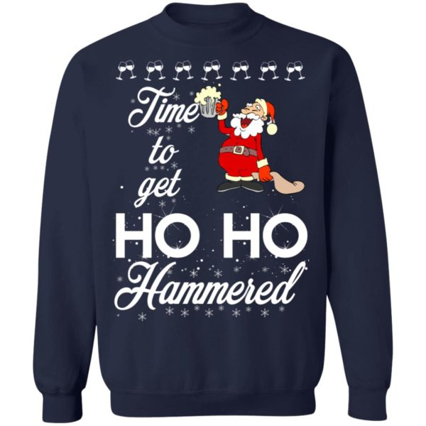 Time To Get Ho Ho Hammered Christmas sweater 10