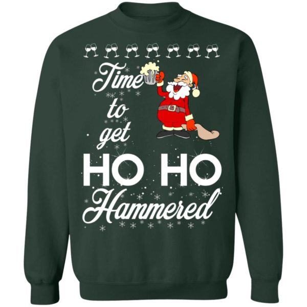 Time To Get Ho Ho Hammered Christmas sweater 12