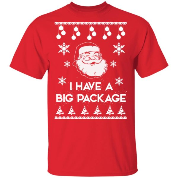 Santa I have a big package Christmas sweater 2