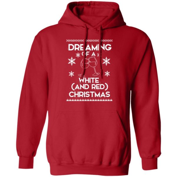 Dreaming Of A White And Red Christmas wine sweater 8
