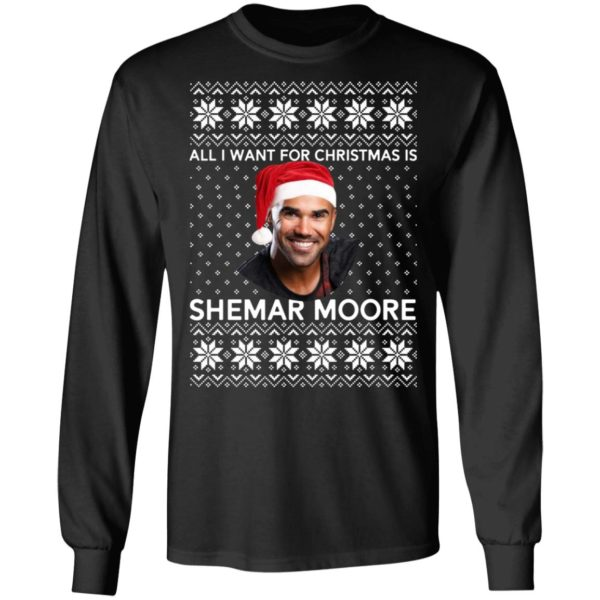 All I want for Christmas is Shemar Moore shirt 5