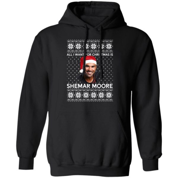 All I want for Christmas is Shemar Moore shirt 7