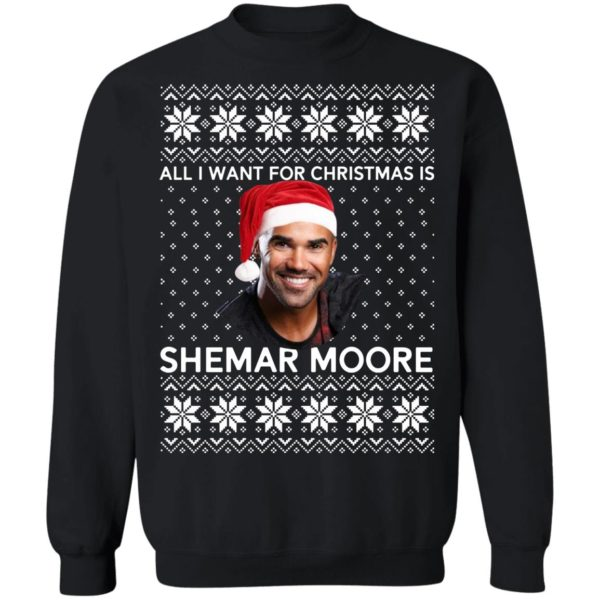All I want for Christmas is Shemar Moore shirt
