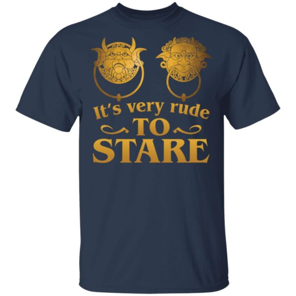 It's Very Rude To Stare Labyrinth Knockers shirt 2