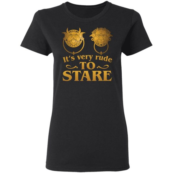It's Very Rude To Stare Labyrinth Knockers shirt 3