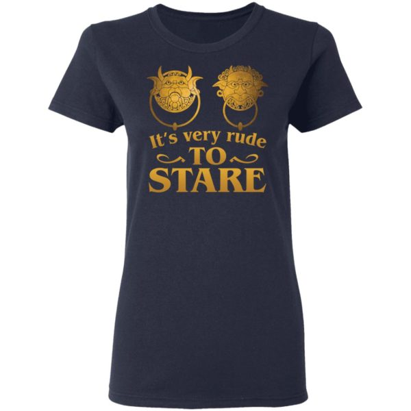 It's Very Rude To Stare Labyrinth Knockers shirt 4