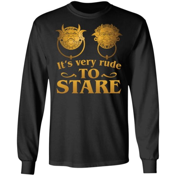 It's Very Rude To Stare Labyrinth Knockers shirt 5