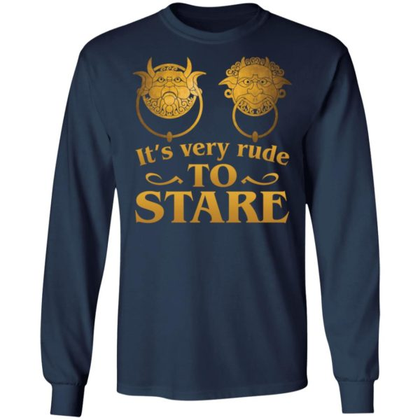 It's Very Rude To Stare Labyrinth Knockers shirt 6