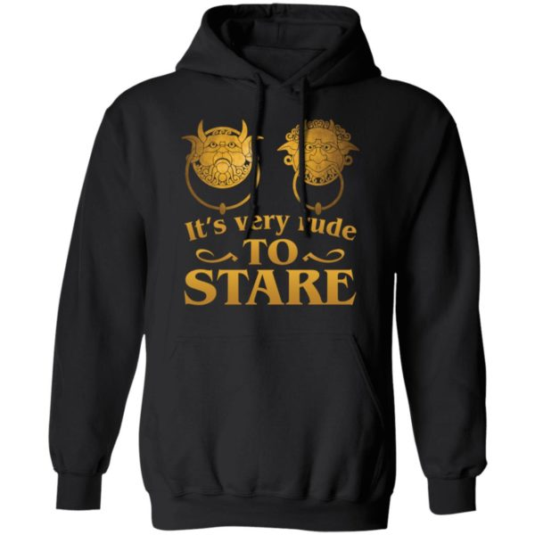 It's Very Rude To Stare Labyrinth Knockers shirt 7