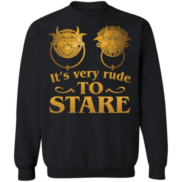 It's Very Rude To Stare Labyrinth Knockers shirt 9