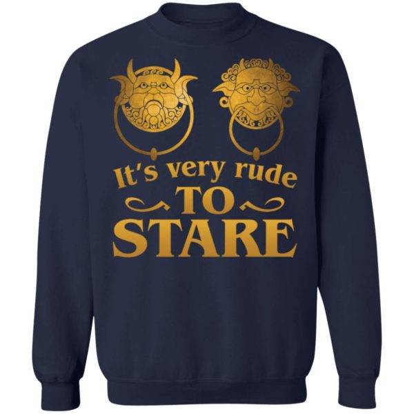 It's Very Rude To Stare Labyrinth Knockers shirt 10