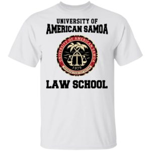 University of American Samoa Law School sweatshirt