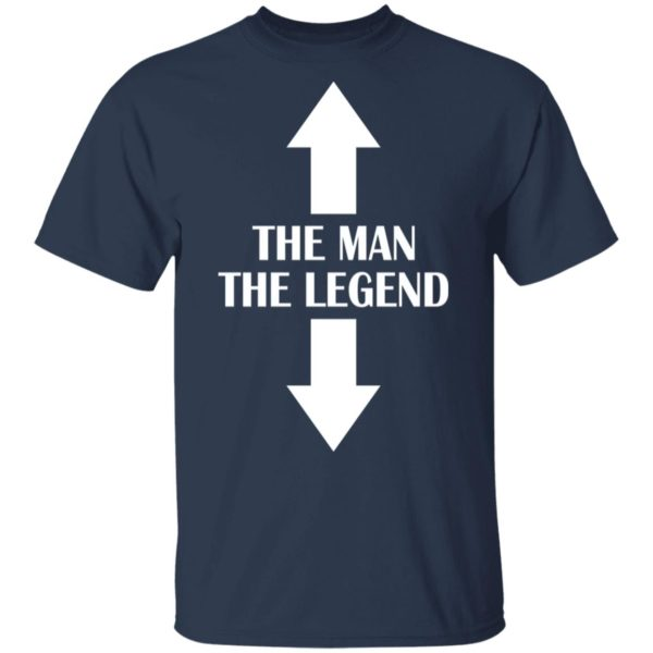 Two seater the man the legend shirt 2