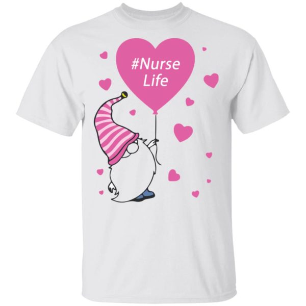 Gnome nurse life shirt